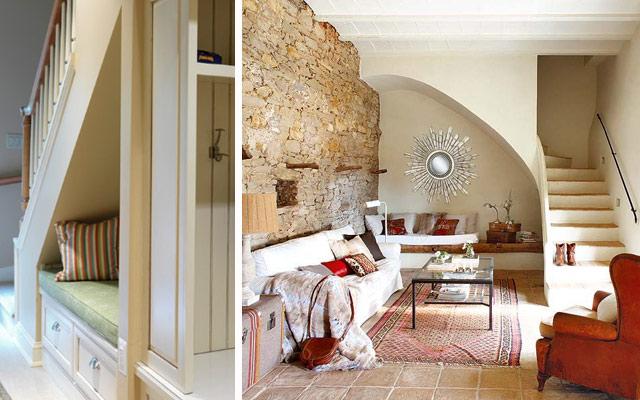 Ideas para aprovechar el espacio bajo las escaleras el for Se puede dividir un piso en dos