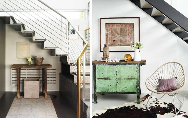 Ideas para aprovechar el espacio bajo las escaleras el for Cama bajo escalera