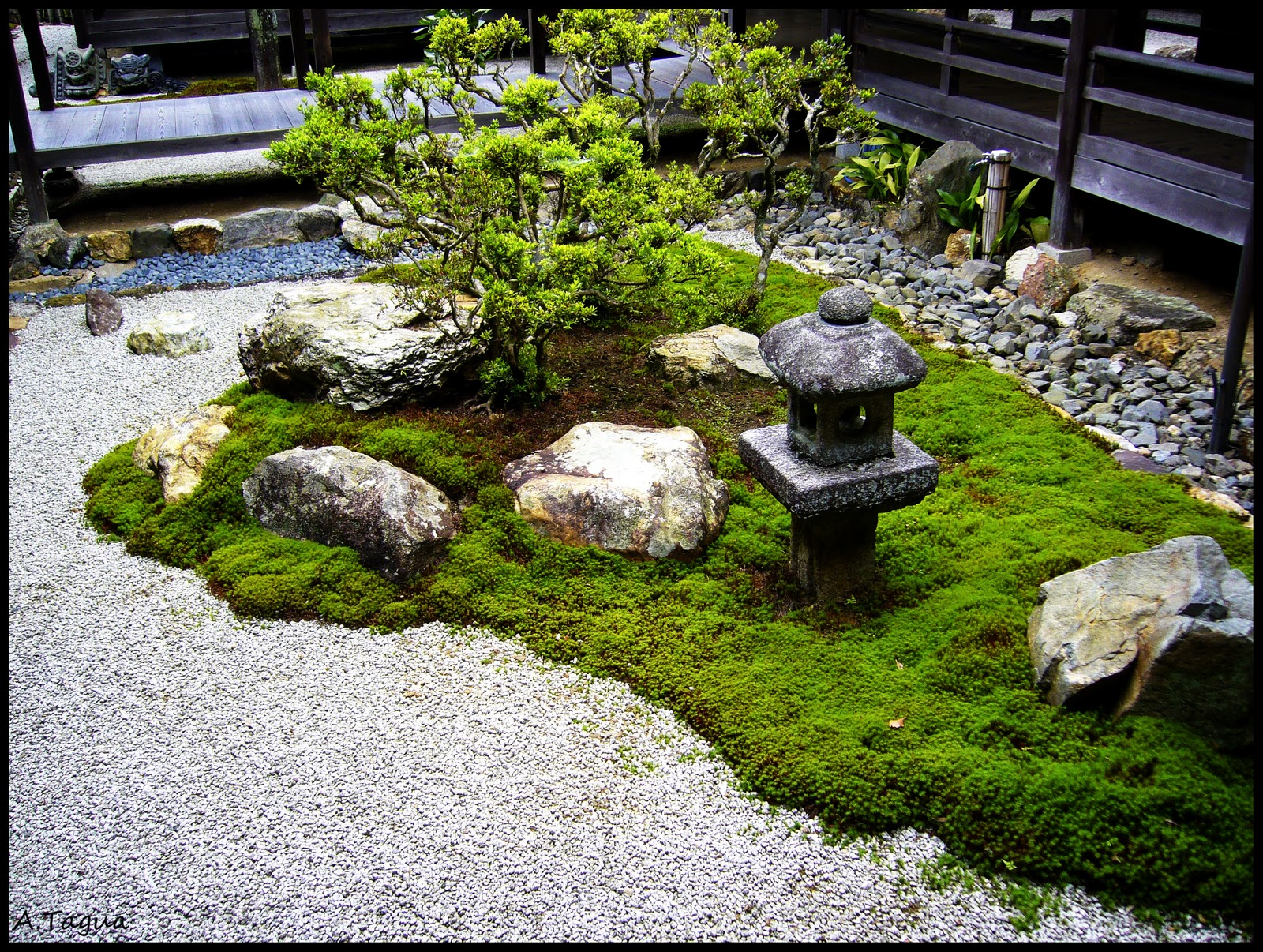 Decoracion zen jardin for Ideas decoracion jardin