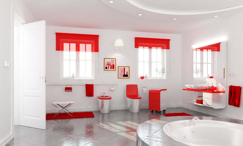 como decorar un cuarto de bao