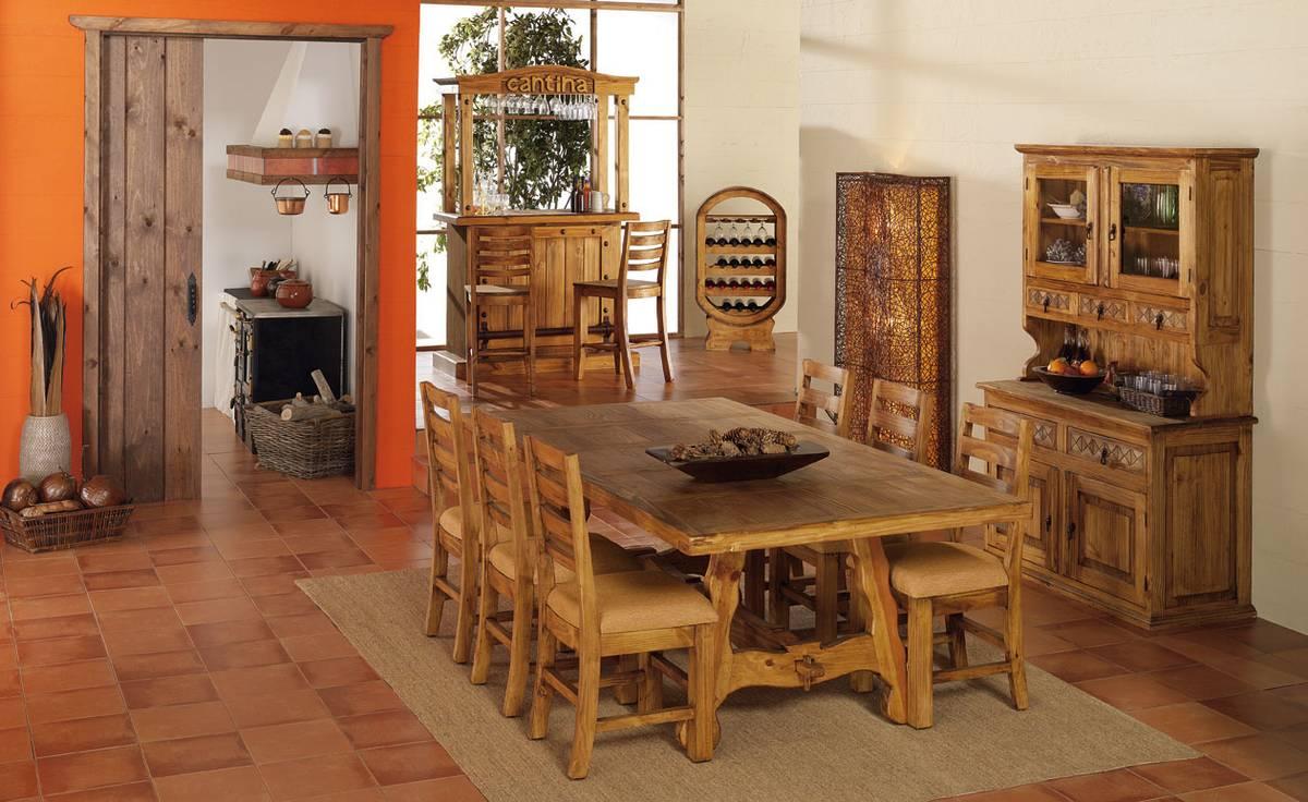 Tips para decorar un comedor de cualquier estilo el club for Comedores rusticos modernos
