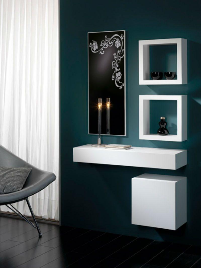 Muebles Entraditas Mueble Recibidor Fabulous Muebles Entrada  # Muebles Minimalistas Baratos