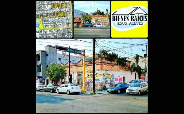 Terreno Comercial Centro Culiacán